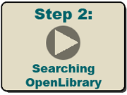 Step 2: Searching Open Library
